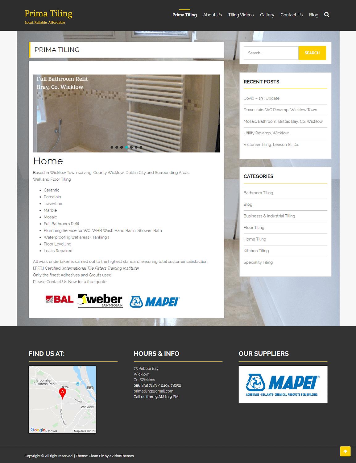 Prima Tiling - Prima Tiling